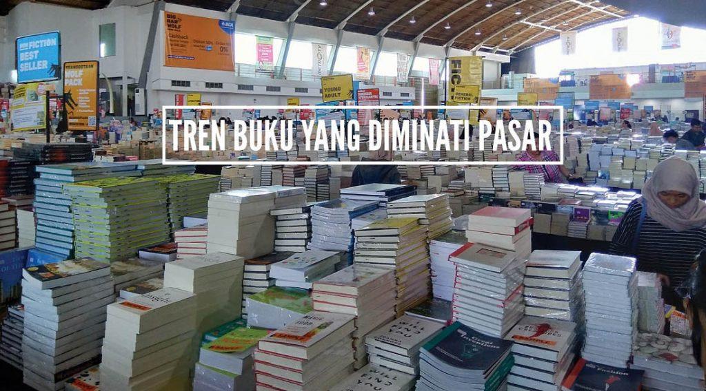 tren buku di pasar