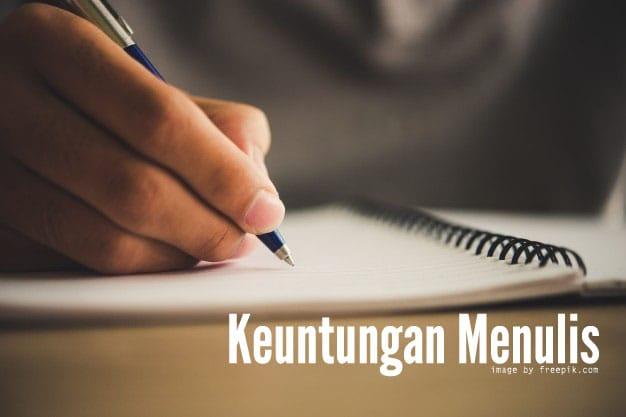 keuntungan menulis