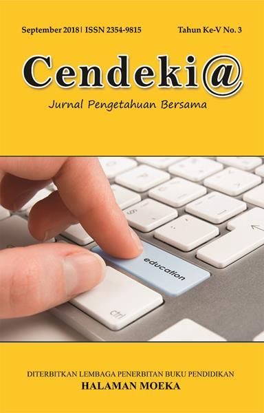 cover Cendekia th ke v no 3 September 2018
